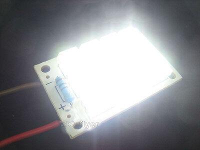 3 - 5v Dc Super Bright 12 Led White Piranha Led Board Night Led Lights Lamp