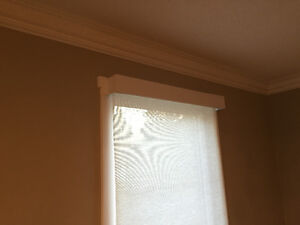 Remote controlled roller blinds/fabrics included! Strathcona County Edmonton Area image 3