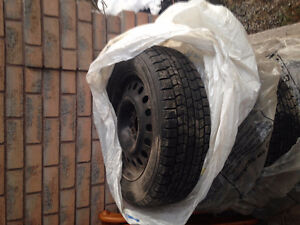set of 4 snow tires Peterborough Peterborough Area image 2