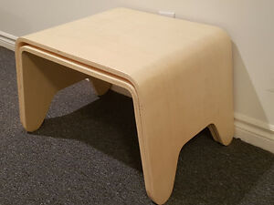 2 Side Tables in Birch Plywood Kitchener / Waterloo Kitchener Area image 2