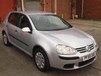 V.W GOLF 1.6 PETROL FSI S 5DR,HPI CLEAR,1 OWNER FROM NEW,11 TIMES SERVICES,2 KEY