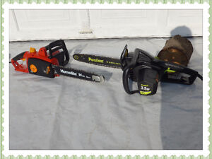 1 ELECTRIC CHAIN SAW, I DELIVER