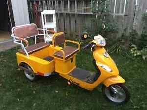 BRAND NEW ELECTRIC TRICYCLE WITH BASKET AND PASSENGER SEAT
