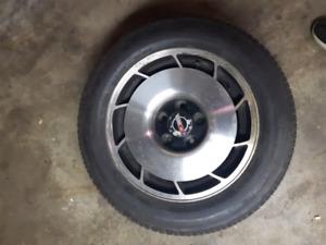 1984 to 1986 Corvette Rim and tire