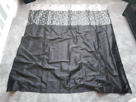 New black/silver curtains