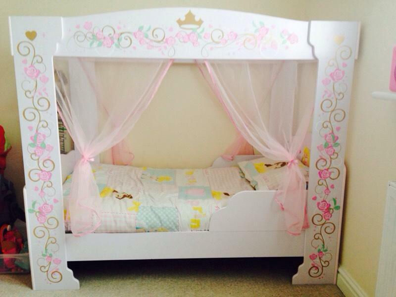 Princess 4 Poster Toddler Bed Buy Sale And Trade Ads