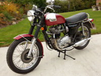 TRIUMPH T140V 1975 744cc MATCHING NUMBERS