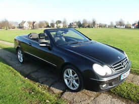 Mercedes-Benz CLK200 Kompressor Automatic Avantgarde Convertible