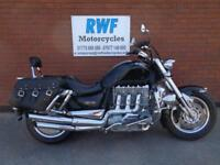 TRIUMPH ROCKET 3, EXCELLENT COND, 2004, ONLY 12,699 MILES, FSH, LOTS OF EXTRAS