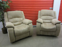 Matching Set of Electric Recliners - ( Delivery )