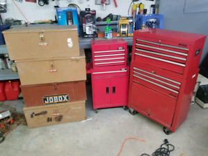 Tool boxes and job boxes