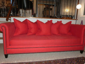 Crate and Barrel Tailor Sofa / Couch / Chesterfield