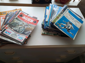 football and speedway programes