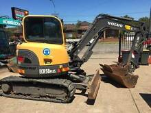 2008 Volvo ECR58 PLUS Low Hours!! Smeaton Grange Camden Area Preview