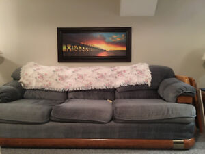 Sofa, loveseat and oversized chair !