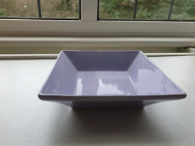 Purple Rectangular Bowl