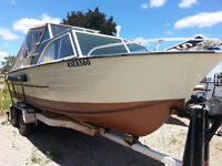 For Sale 24 ft. Fishing Boat with Diesel engine