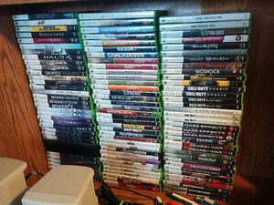 plein de jeux xbox 360 à vendre prix variés