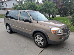 2006 Pontiac Montana Minivan (+winter tires & rims worth $1,000)