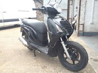 2009 Honda PS 125cc learner legal 125 cc scooter with MOT. Needs repairs.