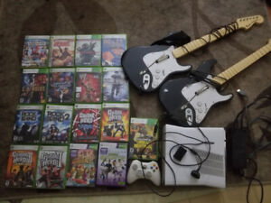 Xbox 360 and games $120 OBO