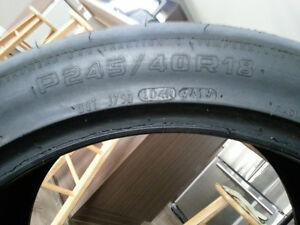 Drag radial hoosier 245/40/18