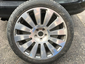 "-NEW- AUDI A8 19""AND VOLKSWAGEN   17"" ALUWHEEL WITH NEW MICHELIN"