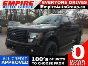 2012 FORD F-150 FX4 * 4WD * LEATHER * NAV * REAR CAM * SUNROOF *
