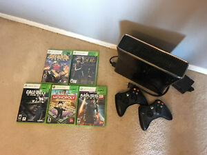 Great Christmas present! Xbox 360 slim 250gb with games