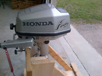 5 HP Honda Outboard Short Shaft