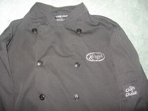 CHEF JACKET FOR KELSEY'S
