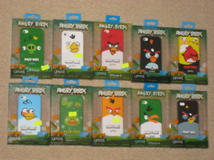 Angry Birds cases & Screen Protectors for iPhone 4/4S New In Box