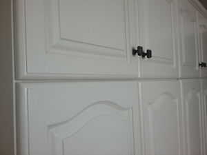 Kitchen Cabinet Refinishing Spray Painting Call 647 772 3726