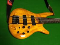 Ibanez SR 700 am bass guitar and soft case