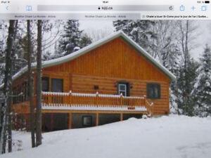 Location de chalet a 5 minutes des pente de ski