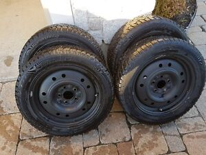 WINTER TIRES AND RIMS  205/55/16 West Island Greater Montréal image 1
