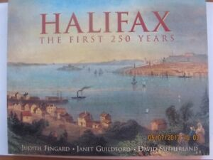 HALIFAX, THE FIRST 250 YEARS by Judith Fingard