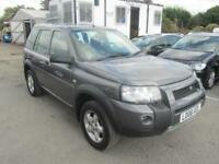 2006 Land Rover Freelander SW 2.0TD4 112 Adventurer 4WD Diesel grey Manual