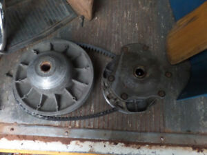 400 polaris atv clutch and belt
