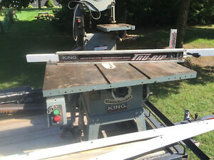 Table saw and bandsaw
