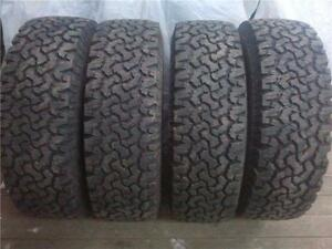 265/75/16 BFGOODRICH LOAD RANGE (E) SET OF 4 $500.00 (NPVG42092B) MIDLAND ON.