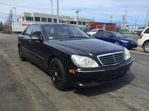 2004 Mercedes-Benz S-500 4matic AMG PACKAGE