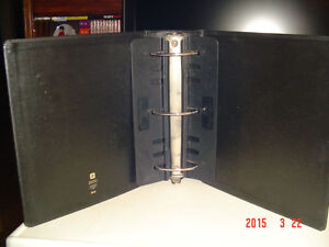 "SEVERAL 4"" BLACK THREE-RING, RUGGED, HEAVY DUTY BINDERS Windsor Region Ontario image 5"