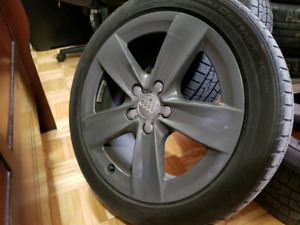 Jantes audi 17 po mags 5x112 continetal purecontact 225/45/17