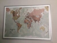 Large atlas picture from IKEA