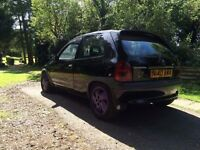 Corsa b 1.4 sport with td conversion