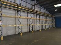 LINK 51 INDUSTRIAL PALLET RACKING FRAMES BEAMS (Brentwood Branch)