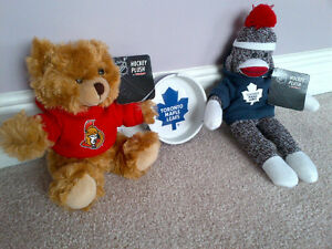 New Maple Leafs, Senators Collectibles
