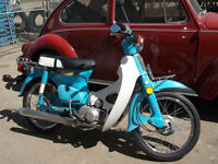 VINTAGE 1981 HONDA PASSPORT C70 FOR SALE.