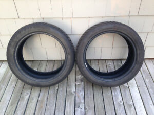 2 Winter / Snow Tires 205x50r17